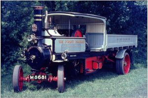 Foden Wagon The Dorset Rambler at Beaulieu 1965