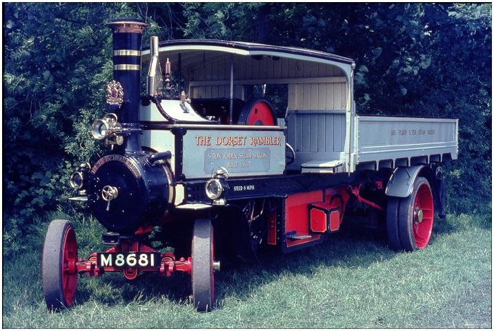 Foden Wagon The Dorset Rambler at Beaulieu 1965